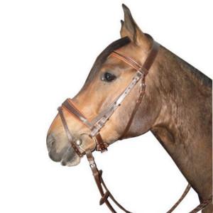 Уздечка с немецким капсюлем и восьмеркой купить в интернет магазине конной амуниции
