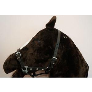 Недоуздок кожаный регулируемый купить в интернет магазине конной амуниции