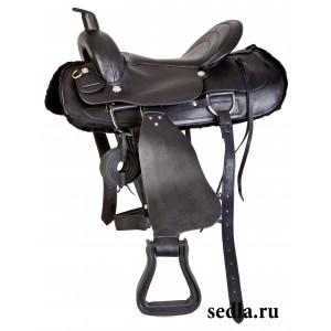 Седло вестерн купить в интернет магазине конной амуниции
